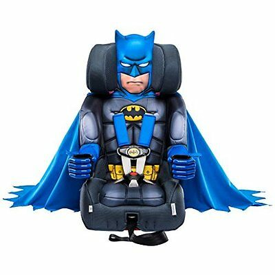 Car Safety Seat Batman Deluxe Child Toddler Harness Booster 5-point 22-65lb