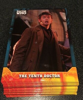 2017 Topps Doctor Who Signature Series Base Card Lot 35 (no Duplicates)