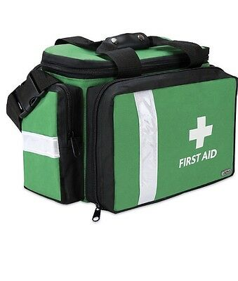 first aid Pursuit Pro Response Bag Medium Size Bag Green First Aid Logo EMPTY