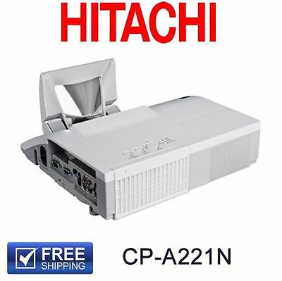 Hitachi CP-A221N Projector 2200 Lums Short Throw Hdmi Clean Tidy Tested Working