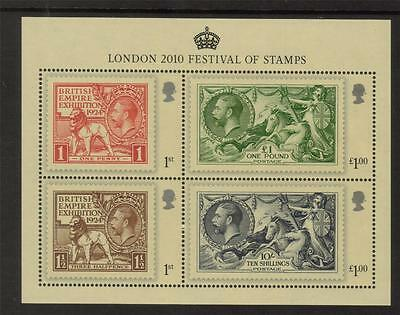 Sg Ms3072 2010 London Festival Of Stamps Miniature Sheet - Unmounted Mint