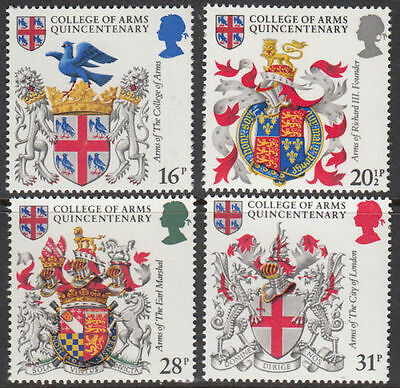 Sg1236-1239 1984 College Of Arms ~ Unmounted Mint