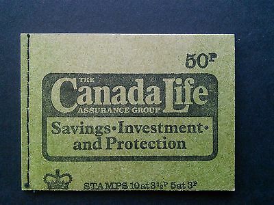 DT14  50p Booklet CANADA LIFE ~ MARCH 197 4