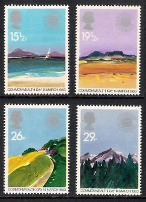 Sg1211-1214 1983 Commonwealth Day ~ Unmounted Mint Gb