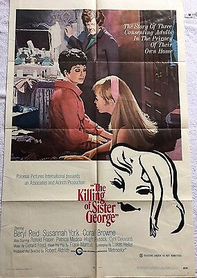 Original The Killing Of Sister George (1969) US One Sheet Poster