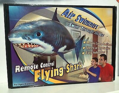 Air Swimmers remote control flying shark brand new box opened