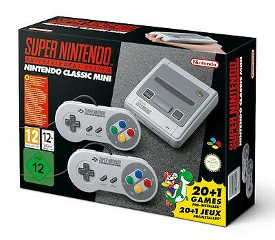 Nintendo Classic Mini Super Nintendo Entertainment System