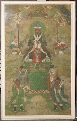16th.c Chinese Ming Dynasty Buddhist Painting