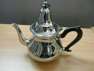 Vintage Stainless Steel Tea Pot (Maroc)