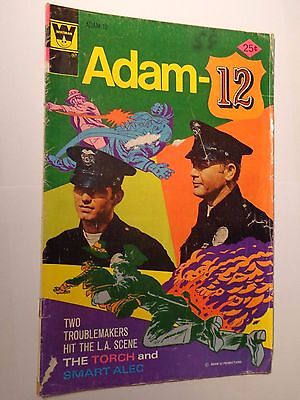 Lot of 6 Old Comics DC, Marvel, Whitman 1975-1988 Adam-12 to Spider-Man