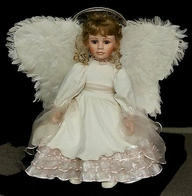 """Morning Angel  26"""" Hand Painted Porcelain Doll - Sweet Dreams Collection #173"""