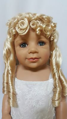 "NWT Monique Breanna Honey Blonde Doll Wig 16-17"" fits Masterpiece Doll(WIG ONLY)"