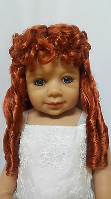 "NWT Monique Breanna Carrot Red Doll Wig 16-17"" fits Masterpiece Doll(WIG ONLY)"