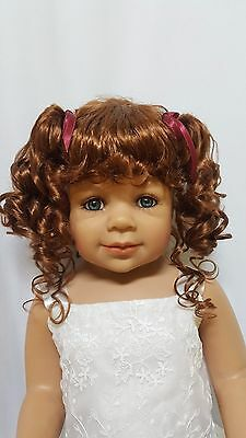 "NWT Monique Abby Golden Auburn Doll Wig 16-17"" fits Masterpiece Doll(WIG ONLY)"