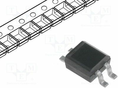 5 pcs Single phase rectifier bridge; Urmax:250V; If:0.5A; Ifsm:20A