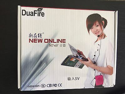 DuaFire Voice Amplifier Portable Microphone with Waistband