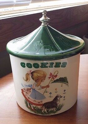 Little Bo Peep Cookie Jar Made in the USA