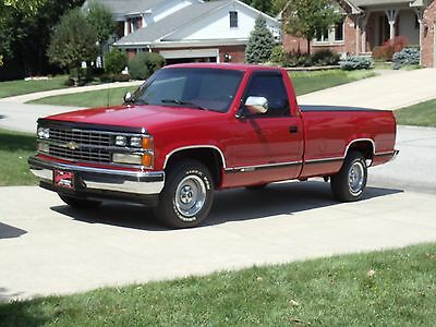 1989 Chevrolet C/K Pickup 1500 Silverado 1989 chevrolet silverado Amazing Original Condition