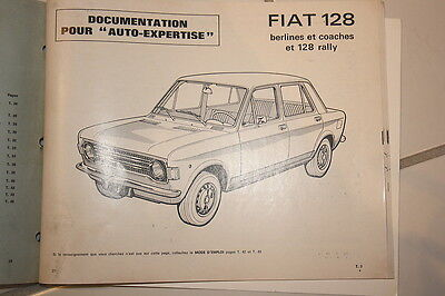 RTA AUTO-EXPERTISE n° 41 JUIL-AOUT 1973....  FIAT 128- FIAT 128 RALLY