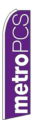 Metro Pcs Swooper Flag Only-Free Shipping