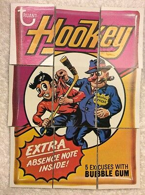 Wacky Packages 9th Series Complete Puzzle Checklists Cards