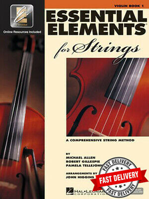 Essential Elements For Strings Book 1 - Violin With Ee Interactive