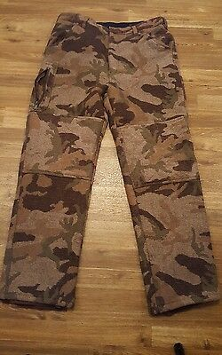 Cabela's Dry-Plus, Hunting Pants, Insulate,  Knee padded 100% Wool Shell. 38x30