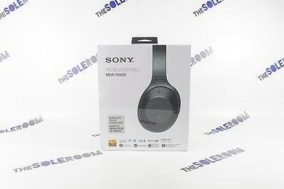 Sony Over-Ear Noise-Cancelling Wireless Headphones with Mic (MDR1000X/B) - Black