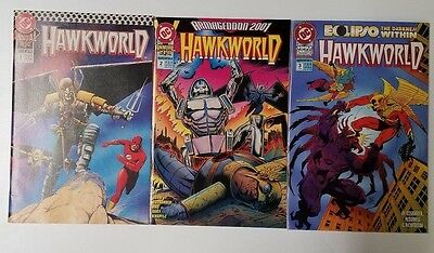 Hawkworld Annual #1 #2 #3 (HUGE AUCTION GOING ON NOW)