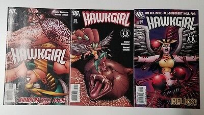 HAWKGIRL lot of 3 diff. DC Comics (HUGE AUCTION GOING ON NOW)