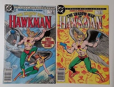 Shadow War of Hawkman #1 and #2 (HUGE AUCTION GOING ON NOW)