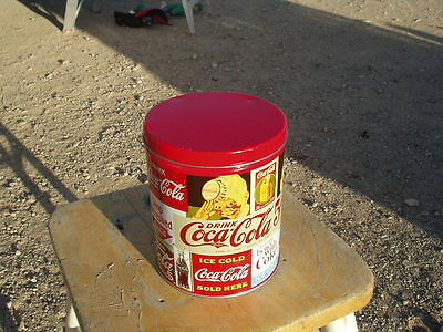 coca cola vintage 1993 tin can from puzzle not perfect but very good