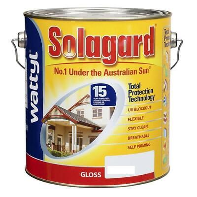 Solagard Gloss White Base Exterior Paint Paint Painting