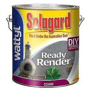 Solagard Ready Render Coarse Exterior Paint Paint Painting