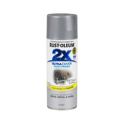 Rustoleum Ultra Cover 2X Metallic Spray Paint Paint Painting