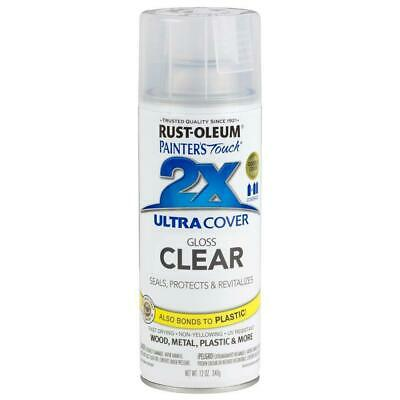 Rustoleum Ultra Cover 2X Clear Spray Paint Paint Painting