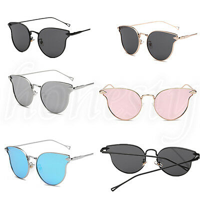 Women Man Unisex Classic Cat Eye Outdoor Fashion Shades Vintage Sunglasses