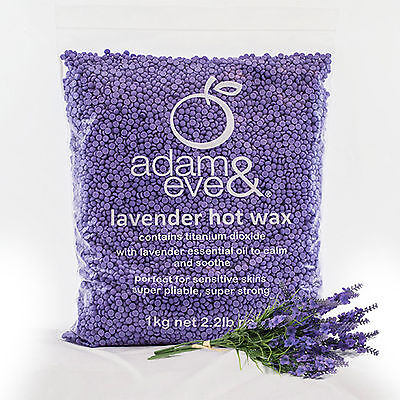 Adam & Eve LAVENDER Beaded Depilatory HOT WAX - 1kg