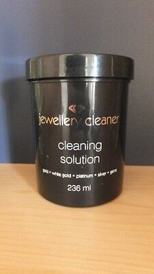 Jewellery Cleaner Bath With Brush And Basket 236Ml Gold Silver Platinum Opals