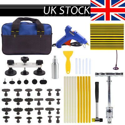 PDR Paintless Dent Puller Lifter Repair Hammer Tools Hail Removal Glue Gun Kits