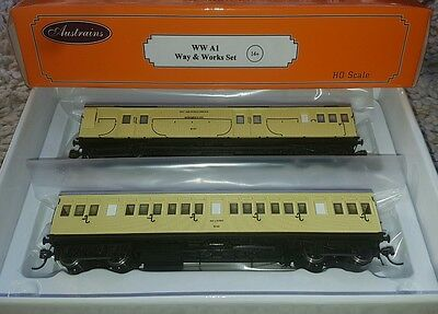 Austrains Way and Works A1 pack - BRAND NEW - HO SCALE