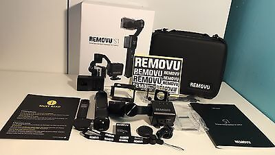 New Removu S1 3 Axis Gimbal Stabilizer Handheld For GoPro 5 4 3 3+