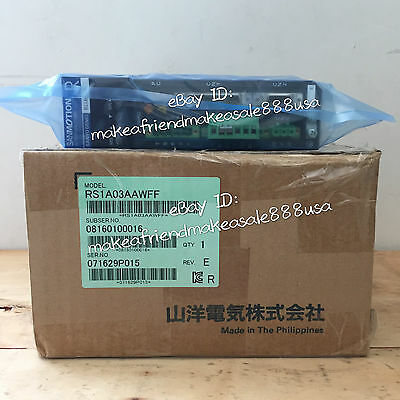 RS1A03AAWFF SANYO DENKI ac servo drive systems RS1A03AA WFF original new in box
