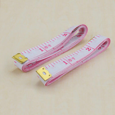 """60"""" /150cm Body Measuring Ruler Sewing Cloth Tailor Tape Measure Soft Flat"""