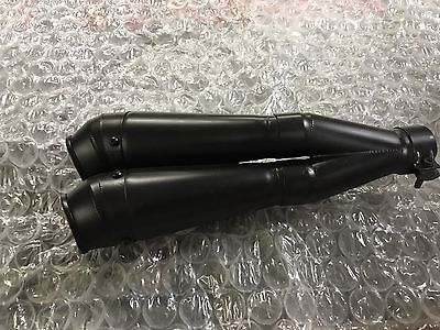 Yamaha R6 Exhaust End Twin Can