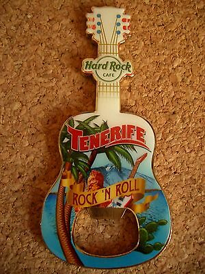 HRC Hard Rock Cafe Tenerife Teneriffa City Tee Magnet Bottle Opener 2016 new