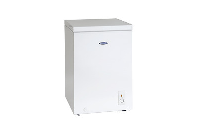 ICE KING CH1041H A+ Rated 98 Litres Fast Freeze Chest Freezer in White New