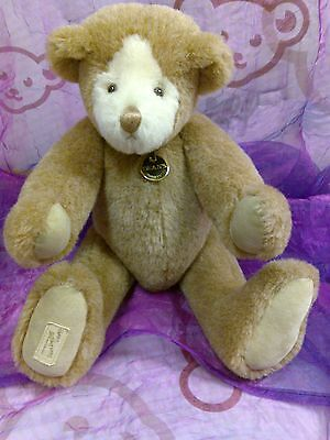 "Deans Teddybears   Ragbook Bear Ltd Edition  Made In England 15"" Tall"