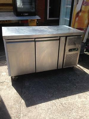 Parry Commercial Prep Counter Chiller Stainless Steel