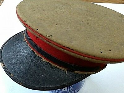 WWII Japanese Military Imperial Soldier's Hat Cap Battle Army Uniform -C-